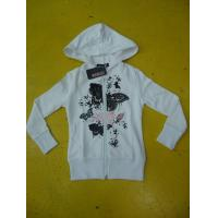 Buy cheap Personalized Fench Terry Ladies Zip Up Hoodies Girls Zip Front Hoodie Casual Wear product
