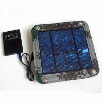 Buy cheap 600D PVC Foldable Solar Panel Renewable Energy  / Foldable Solar Charger For IPhone product