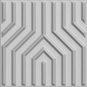 Buy cheap 3dboard wall decor panels 600*600 fiber eco wave panels with original colcor MANHATTAN product