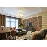 Buy cheap 3D Brick Green Plants Pattern Contemporary Wall Covering For TV Background product