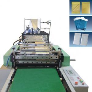 Buy cheap Full automatic Kraft air bubble envelope bag making machine product