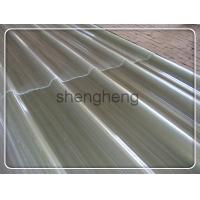 China FRP clear roof sheet/FRP transparent corrugated roofing sheet on sale