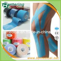China Breathable physio therapy kinesiology tape sports muscle tape various colour on sale