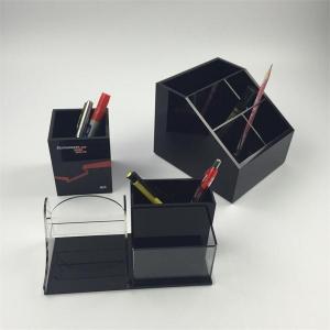 Buy cheap office desktop acrylic pen holder for Christmas gift product
