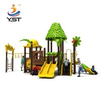 Buy cheap Interesting Kids Outdoor Play Slide Galvanized Steel Pipe Easy Installation product