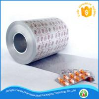 Quality medical blister packaging PTP aluminum foil printing for sale