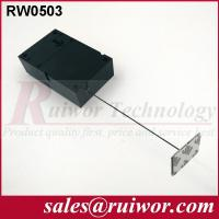 Buy cheap Ipad Security TetherWith Sticking Metal Plate , Shop Retail Anti Theft Pull Box product