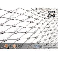 Images of 316L Stainless Steel Ferrule Wire Rope Mesh Netting ...