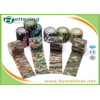 Buy cheap Army Camping Hunting Camouflage Pattern Printing Non Woven Self Adhesive Elastic Bandage product