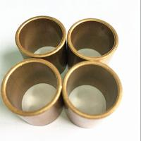 Buy cheap Durable Slide Copper Bushing For Marine Gearbox / Flanged Brass Bimetal Bush from wholesalers