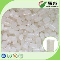 Buy cheap White  Granule Semi Transparent Hot Melt Adhesive Glue Pellets Good Temperature Resistance for filter elements bonding product