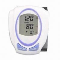 Buy cheap Digital Blood Pressure, Comes in Wrist Type, with Fully Automatic Function and Extra Large Display product