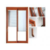 Buy cheap Powder Painted Aluminium Glass Sliding Doors / Aluminum Window Frame Extrusions product