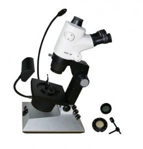 Leica Trinocular Gem Microscope with Color Temperature of 6000k  - 7000k