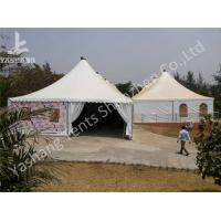 China 10 x 10 German Style High Peak Tents , wedding decoration tent Aluminum Alloy Profile on sale