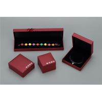Buy cheap Plastic Struction  Jewelry Display Box Set In Recycled Leatherette Paper product