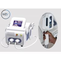 Buy cheap Acne Treatment IPL SHR Hair Removal With Two Handle , Real Sapphire Crystal from wholesalers