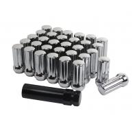 China Premium Chrome Wheel Lug Nuts 2 Inch Long Acorn For Ford F250 / F350 on sale