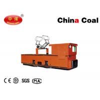 Buy cheap 1.5 Tons Mining Trolley Locomotives Electrical Battery Locomotive Overhead Electric Rail Locomotive product