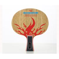 China Personalised table tennis bat Red Flame Blade For Burning Passion wholesale