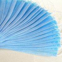 Buy cheap Breathable Non Woven Anti Smog Earloop 3 Ply Face Mask product