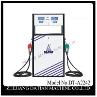 Buy cheap service staion 1.6 meter height 220V dual fuel oil dispenser product