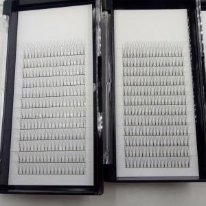Buy cheap Rootless Pre Fanned Eyelash Extensions Full Volume Lashes 3d Short Stem High Volume product