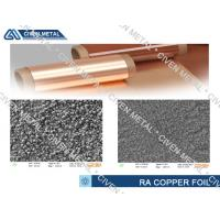 Buy cheap Flexible Copper Clad Laminate RA Copper Foil Thickness 10~70µm product