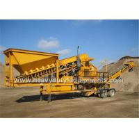 Buy cheap Three Spindle Mobile impact crusher product