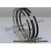 Buy cheap Engine Piston Ring For ISUZU 4BB1 3 Ductile Iron Piston Rings High Precision product