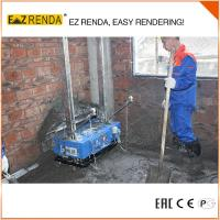 Buy cheap 0.75KW 220V Spray Render Machine In Build Color Internal Wall Use product