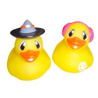 Buy cheap Children Mini Rubber Ducks / Personalized Rubber Duck Bathroom Set Yellow Color product