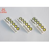 Buy cheap Cobalt Free 6 Dots Colour Change PCB Moisture Indicator Paper Card RoHS product