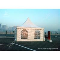China Outdoor German Style High Peak Tent Rentals Aluminum Frame For Audi Car Exhibition wholesale