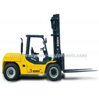Buy cheap Counter Balance Forklift 10 Ton Capacity Steering Axle Simplicity Maintenance product