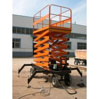 Buy cheap High rise manual hydraulic lift platform Safety with anti - slip Table , 3.0kw product
