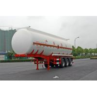 Buy cheap Gooseneck Type Oil Tank Trailer 3x13T Fuwa Axle 28600L For Petroleum / Gasoline product