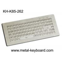 Buy cheap 85 Keys Mini Industrial Metal Keyboard with dust - proof , anti - corrosive product