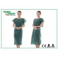 Buy cheap Nonwoven Hospital Isolation Gowns / PP Nursing Hospital Gown For Women , CE Standard product