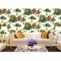 Buy cheap Chinese Style contemporary wall coverings Mountains And Rivers For Sofa/TV Background product