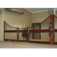 Buy cheap Outdoor Plywood Board European Horse Stalls Stable Stall Fence Panel With Roof product