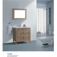 Buy cheap Two Drawers PVC Bathroom Cabinet With Wood Grain Freestanding Install product