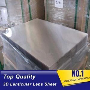 Buy cheap OK3D Plastic Lenticular outdoor 120cmx240cm 6mm lenticular board for  3D lenticular wedding photo and big size 3d print product