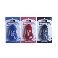Buy cheap Mega Capacity Pet 20m Correction Tape Pen With Protective Applicator Tip product