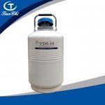 Buy cheap Tianchi Liquid nitrogen container 10L Liquid nitrogen tank YDS-10 Cryogenic vessel 10L50mm aluminium alloy product