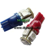 Buy cheap Led Signal bulb T10 5pcs 5050SMD interior signal lighting product