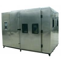 China Air Cooled Rigid Foam Insulation Foodstuffs Auto Test Chamber on sale