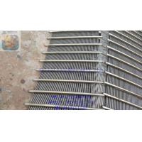 Buy cheap Wedge Wire Grating/ Johnson type Screen plate / dewatering screen panel / v wire from wholesalers