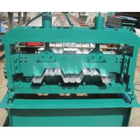 Buy cheap Floor Deck Forming Machine Coil Width 1700mm Anti - Rust Floor Deck Roll Forming Machine Tensile Strength 720 Mpa product