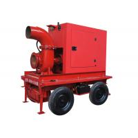 China Diesel Engine Driven Water Pump , Low Noise Irrigation Water Pump on sale